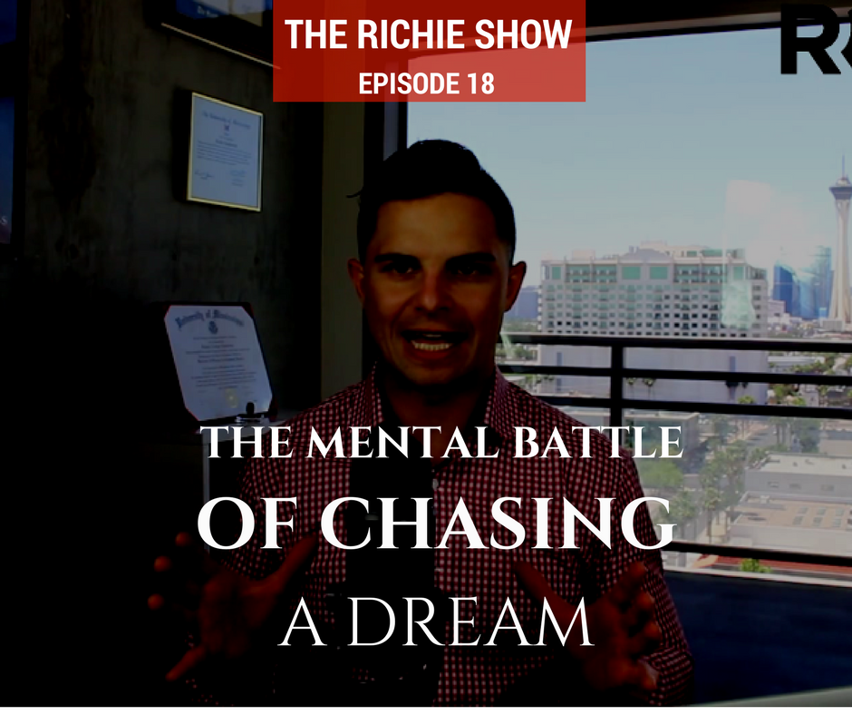 The Mental Battle of Chasing a Dream | RC018